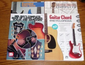 How do I play that chord? Part 4: Books, charts and devices.
